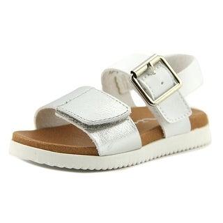 Nina Kathi Youth Open Toe Synthetic White Sandals