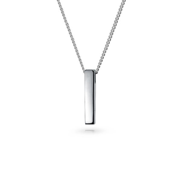 Precious Metal Without Stones Fine Jewelry Sterling Silver Thin Modern Layering Pendant Necklace Chain 50% OFF