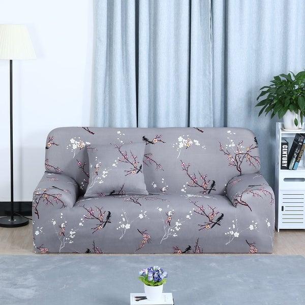 Shop Home Decor 1 2 3 4 Seats Stretch Cover Sofa Cover