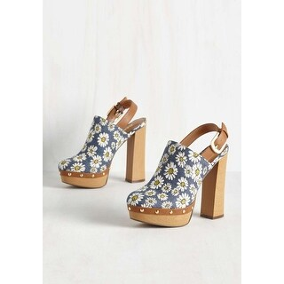 Report Womens Mylie Almond Toe SlingBack Clogs (More options available)