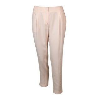 Laundry Women's Straight Leg Crepe Dress Pants