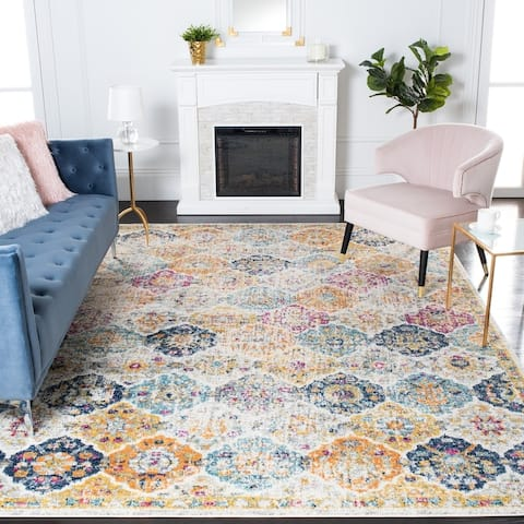 SAFAVIEH Madison Avery Boho Chic Distressed Rug