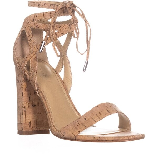 Marc Fisher Fatima2 Lace Up Sandals, Light Natural - 10 us