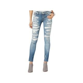 Hudson Womens Nico Skinny Jeans Tencel Denim
