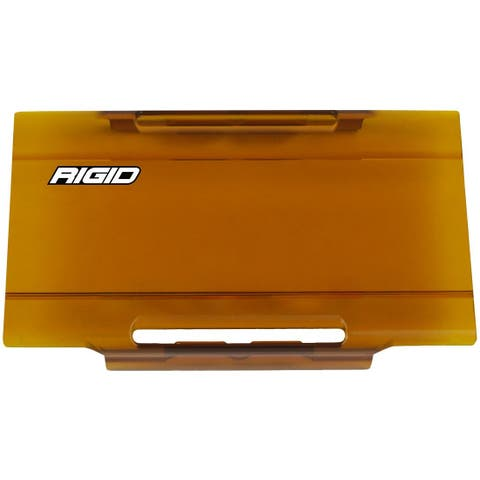 Rigid Industries E-Series Lens Cover 6 Inch - Amber 106933 6 Inch Lens Cover - Amber