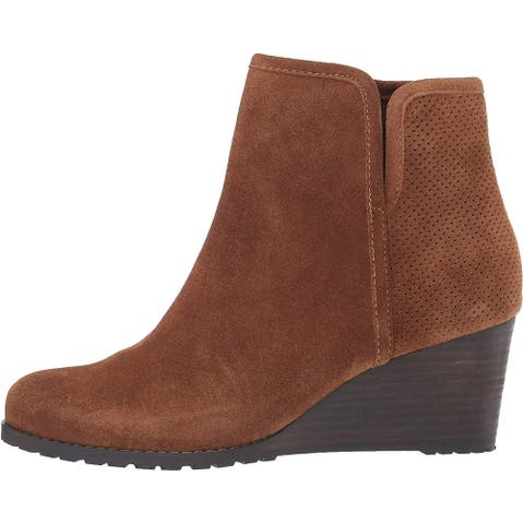 Rockport Women's Shoes Hollis Fabric Round Toe Ankle Fashion Boots
