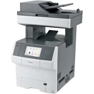 Lexmark X740 X748DE Laser Multifunction Printer - Color - Plain (Refurbished)
