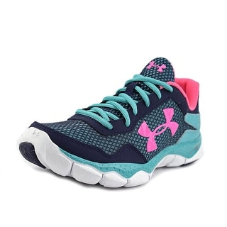 Under Armour UA GPS ENGAGE II BL AL Youth Round Toe Synthetic Tennis Shoe