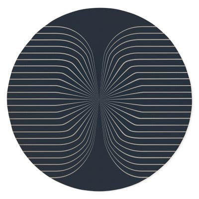 HOUR BLUE Area Rug By Kavka Designs