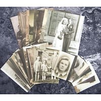 Finnabair Ephemera 32/Pkg-Vintage Collectables
