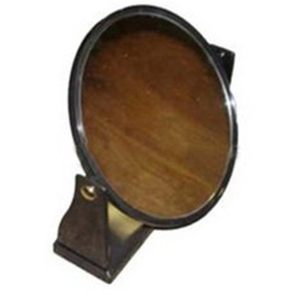 Shop Amko Mirror E07 8 5 In Single Sided Round Mirror Black Frame