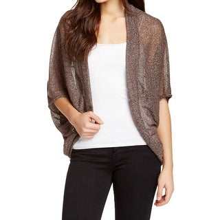 Valette NEW Brown Women's Size Medium M Dolman Cardigan Sweater