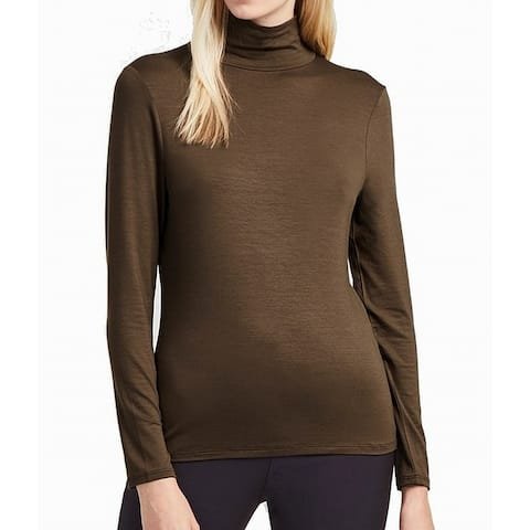 French Connection Women's Top Blouse Small Knit Turtleneck