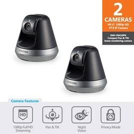 2-pack of SNH-V6410PN - Samsung 1080p Full HD Wi-Fi Pan & Tilt IP Camera