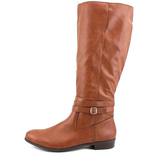 Style & Co. Womens Fridaa-Wide Calf Closed Toe Mid-Calf, Barrel (WC), Size 7.0