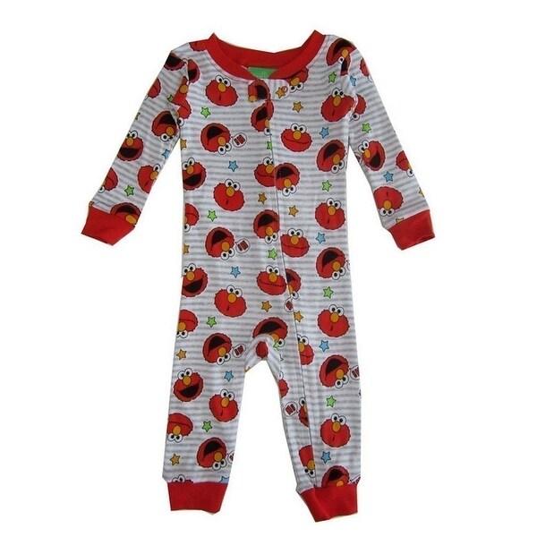 9b6e93b2185d Shop Sesame Street Baby Boys Red Elmo Sleeper - Free Shipping On ...