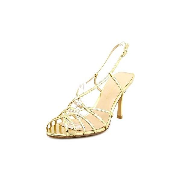 Carmen Marc Valvo Noelle Women Open Toe Synthetic Sandals