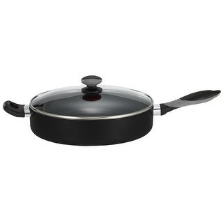 Mirro A7978264 Non-Stick Aluminum Covered Skillet, Black, 12""