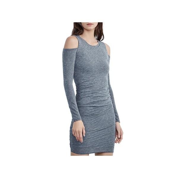 4d71658962 Shop VELVET BY GRAHAM   SPENCER Womens Party Dress Cold Shoulder ...