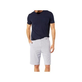 Dockers Mens Khaki, Chino Shorts Striped Classic Fit