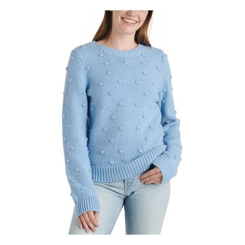 LUCKY BRAND Light Blue Long Sleeve T-Shirt Sweater S