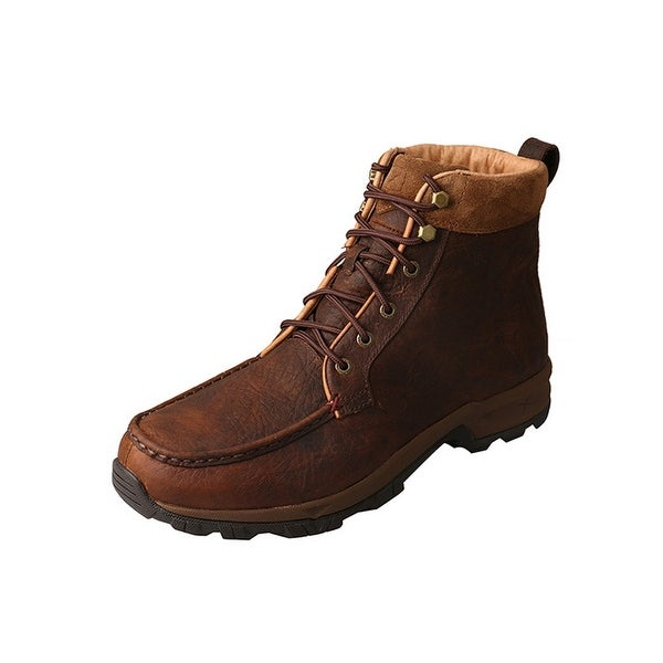 Twisted X Outdoor Boots Mens Hiker Waterproof Lace Dark Brown
