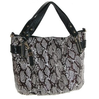 Buxton Women's Margaret Belted Hobo Bag - One size