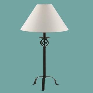 Black Wrought Iron Table Lamp 28 H Renovator's Supply
