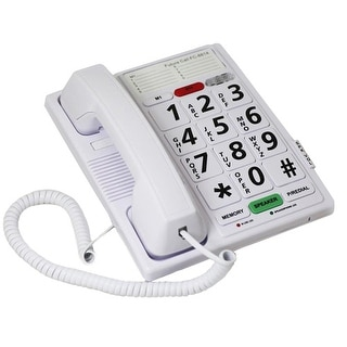 Future Call FC-8814 Amplified Big Button Corded Phone