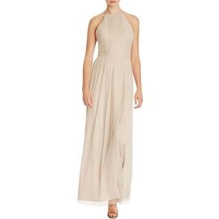 JS Collections Womens Evening Dress Mesh High Waist