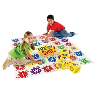 Learning Resources Alphabet Marks the Spot Floor Mat, 54 x 54 Inches