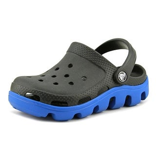 Crocs Duet Sport Clog Kids Youth  Round Toe Synthetic Blue Clogs