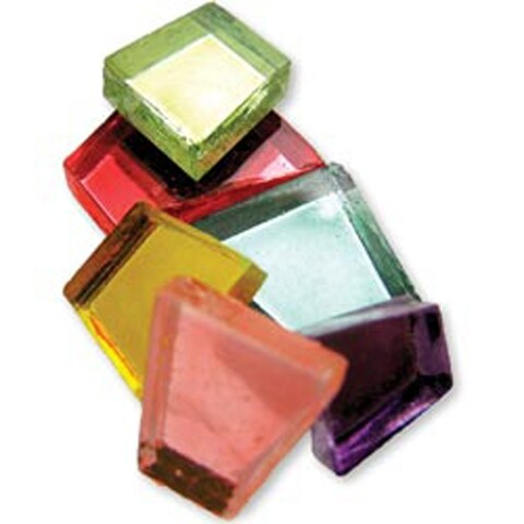 Assorted Mirrors - Crafter's Cut Mosaic Tiles .5Lb