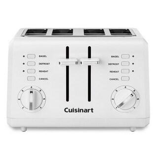Cuisinart CPT142 4-Slice Toaster, White