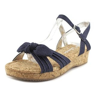 Nina Kids Laurel Open Toe Canvas Wedge Sandal|https://ak1.ostkcdn.com/images/products/is/images/direct/97d8185809751de5d9ee31b996f54fab34257bbc/Nina-Kids-Laurel-Open-Toe-Canvas-Wedge-Sandal.jpg?impolicy=medium