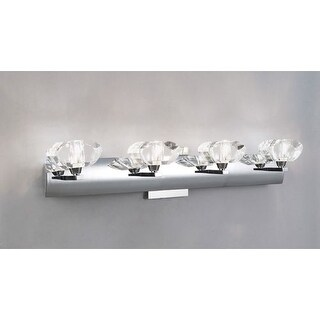 Mantra Lighting 0404CH Alfa 4 Light ADA Compliant Wall Sconce