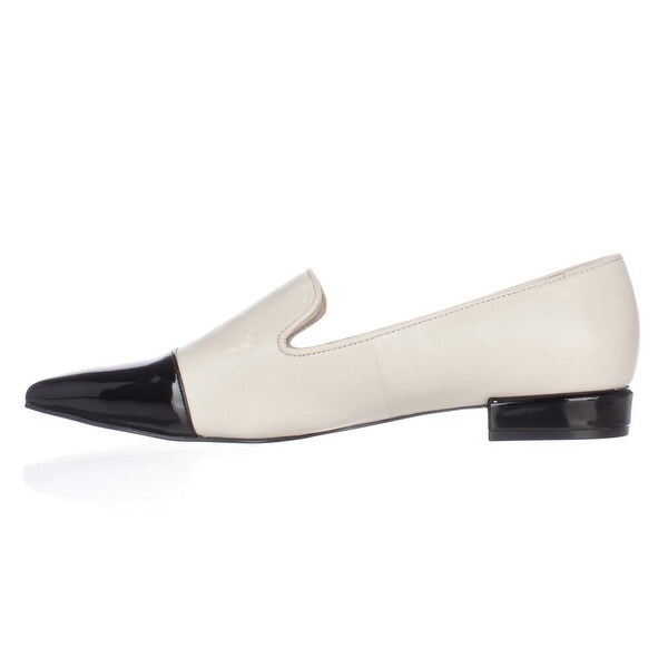 Nine West Womens Trainer Leather Pointed Toe Loafers