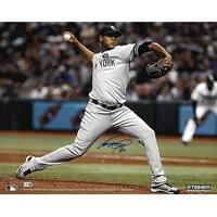 Ivan Nova signed New York Yankees 16x20 Photo horizontal pitching MLB Hologram