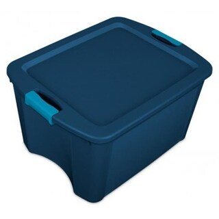 Sterilite 14467406 18 gal Latch & Carry Tote