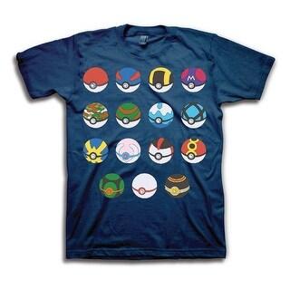 Pokemon Men's Pokeballs T-Shirt