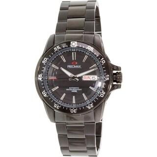 Precimax Men's Propel Automatic PX12093 Black Stainless-Steel Dress Watch