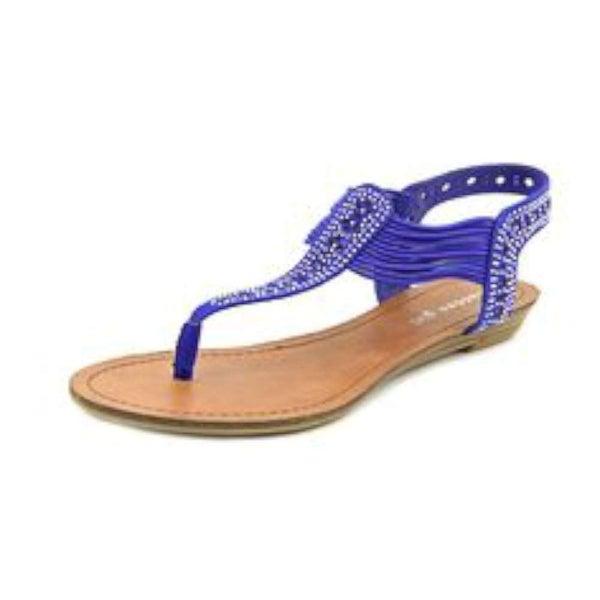 Madden Girl Womens TAAHNEE Split Toe Casual T-Strap Sandals