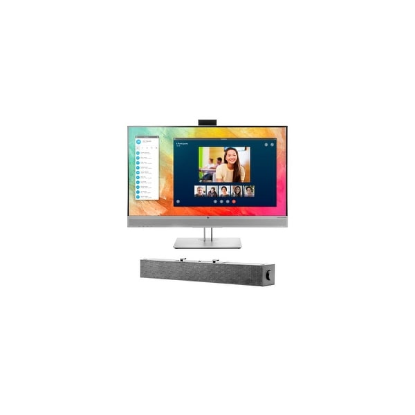 HP EliteDisplay E273m Monitor with S100 Sound Bar EliteDisplay E273m Monitor