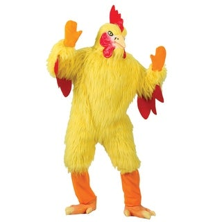 Giant Funny Chicken Adult Halloween Costume - standard - one size