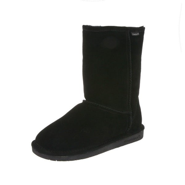Bearpaw Boots Womens Emma Pull On Cow Suede Wool Blend