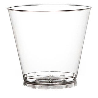 Tablemate Products 405 20 Count Clear Beverage Glass, 5 Oz.