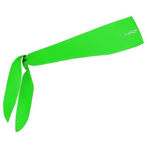 Halo Headband Sweatband Tie Version - Bright Green