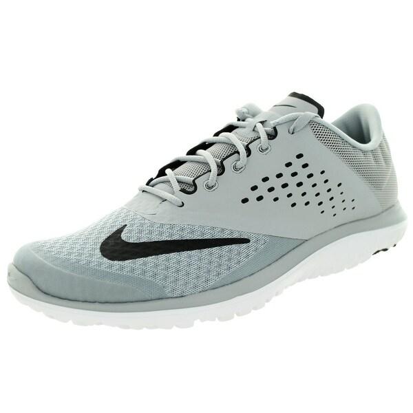 official photos f67fe 50057 Men  x27 s Nike FS Lite Run 2 Running Shoe Wolf Grey White