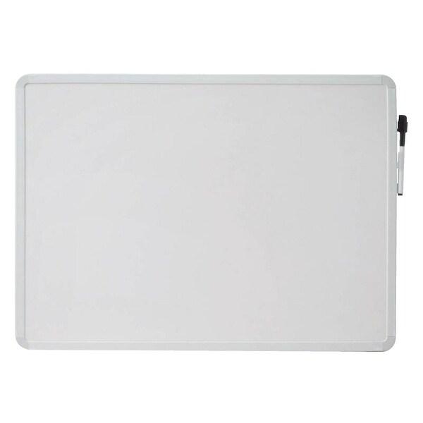 Shop School Smart Dry Erase Board, 16 L x 22 W in, White Frame ...