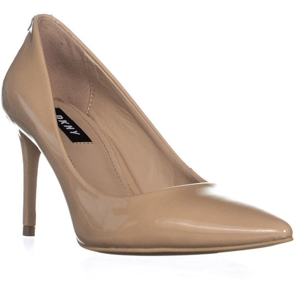 2dabaa0eac Shop DKNY Letty Pointed Toe Pumps, Nude Patent - 6.5 us / 37 eu ...